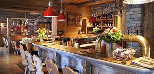 Enjoy swiss kitchen at the edelweiss alpine restaurant