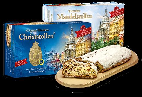 Orginal Dresdner Christstollen® und Dresdner Mandelstollen