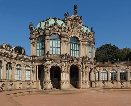 Dresdner Zwinger - Wallpavillon