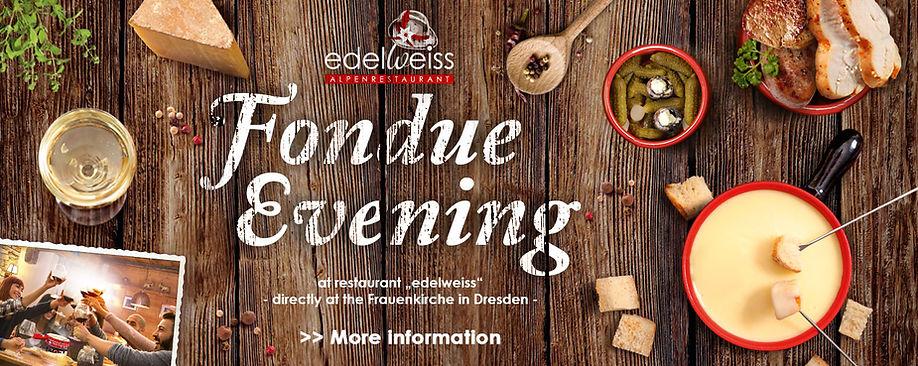 Fondue evening