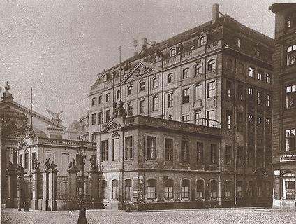 Coselpalais vor 1900