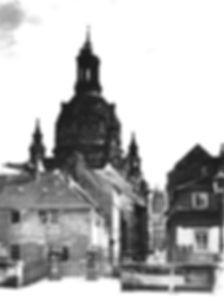 Blick Richtung Münzgasse, Anfang 20. Jahrhundert