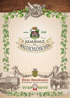 Speisekarte Brauhaus
