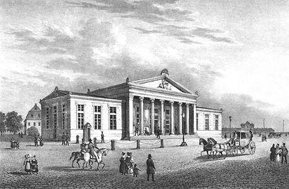 Schinkelwache Dresden - auch bekannt als Altstädtische Hauptwache