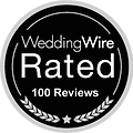 100 Reviews on WeddingWire