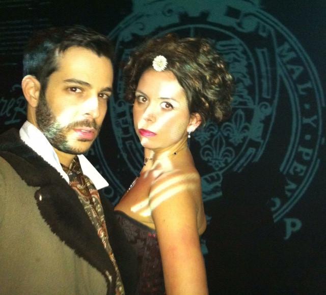 Shai Mattheson & Kate Sawyer in The Faction's Mary Stuart