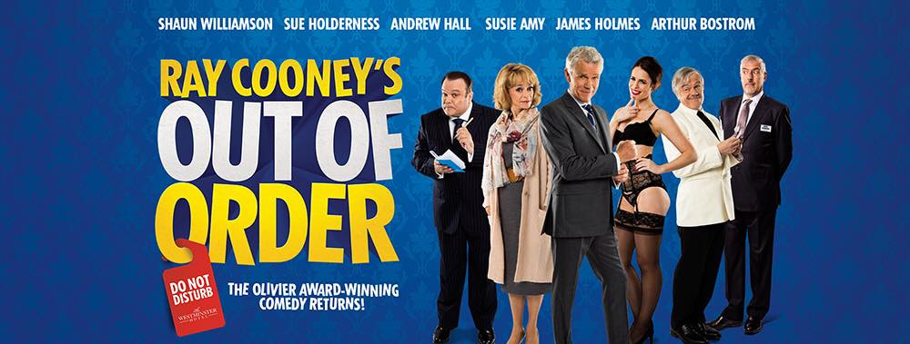 Promo Image for Out of Order by Ray Cooney