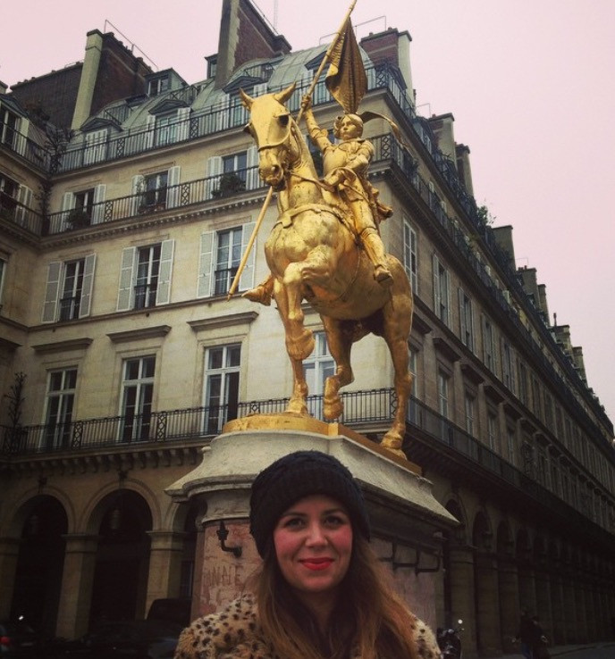 Research: Visiting the Joan of Arc Statue in Paris