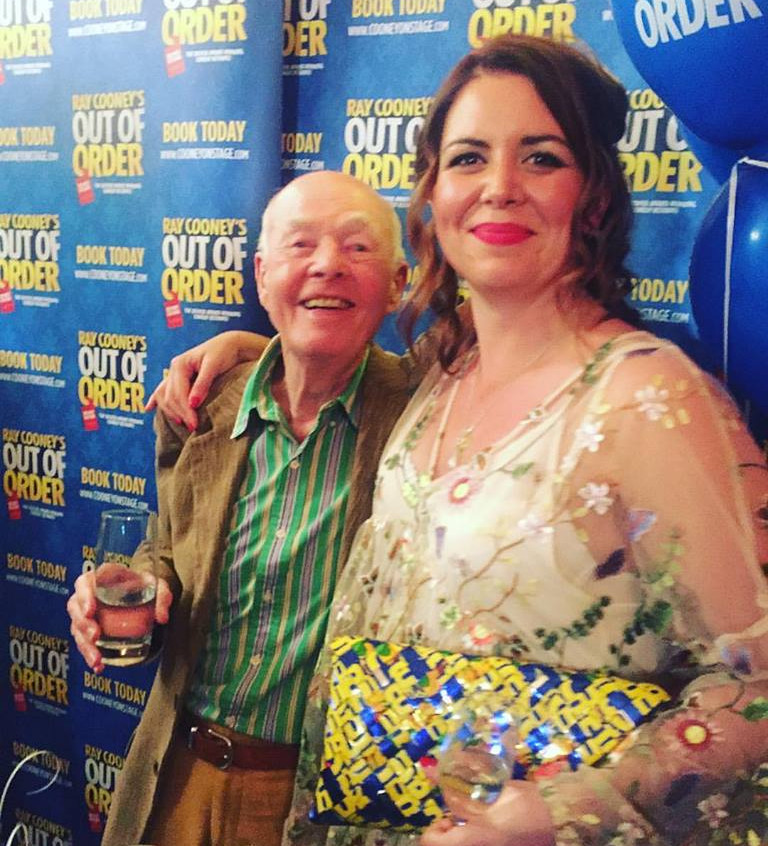 Ray Cooney & Kate Sawyer