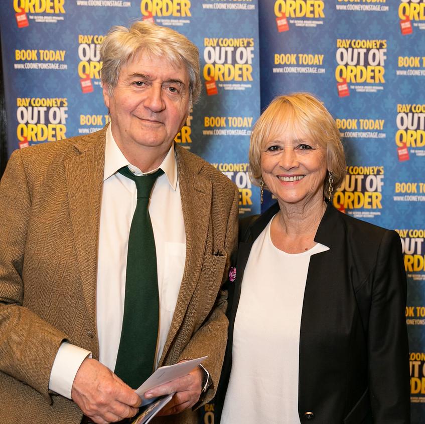 Tom Conti and Kara Wilson
