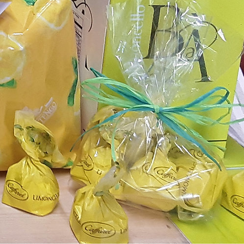 Bag of Limoncello Cream Filled Chocolates