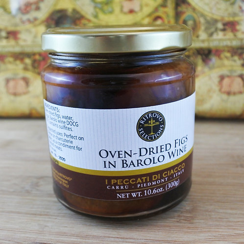Oven-Dried Figs in Barolo Wine