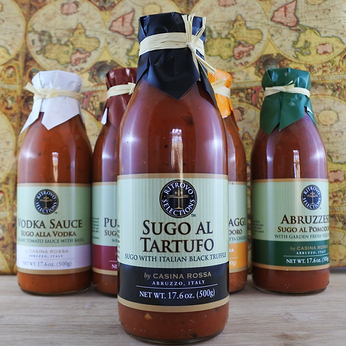 "Sugo al Tartufo ""Italian Black Truffle Sauce"" - 17.6 oz"