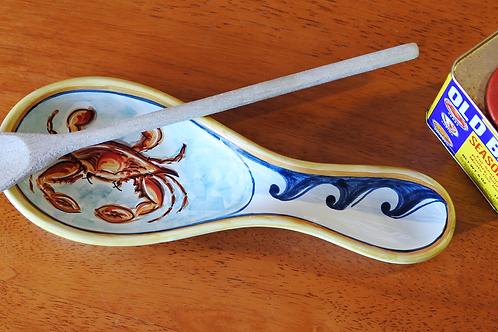 Crab Spoon Rest