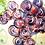 Thumbnail: Rampini 28cm Dinner Plate Renaissance Leaf Green