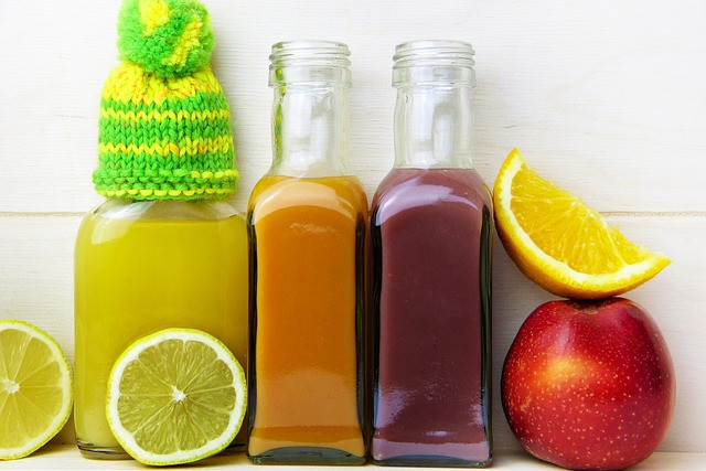 Refreshing Detox Fruit Drinks