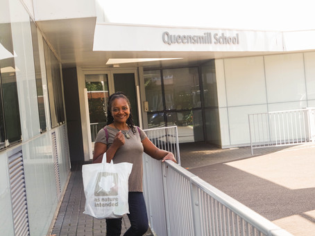 Carol's Organic Kitchen Joins Forces with Queensmill School