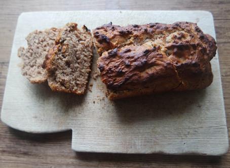 Alkaline Banana Bread Recipe