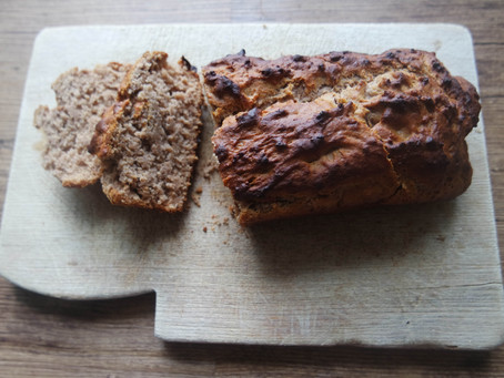 Alkaline Banana Bread Recipe