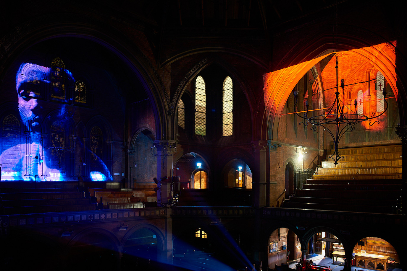 The Turning of the Leaves, A/V installation, Union Chapel (2018)