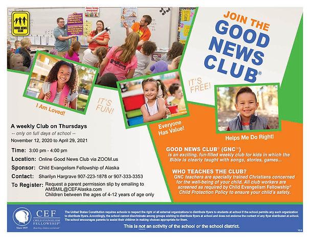 Thursdays Online Good News Club Flyer.jp