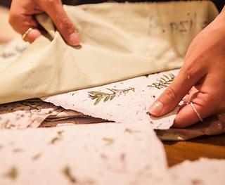 handmade_paper_sustainable_arts_workshop