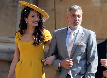 George Clooney atacou de barman e serviu drinques no casamento real