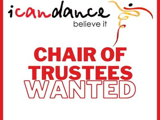I CAN DANCE SEEKS NEW CHAIR OF THE BOARD OF TRUSTEES