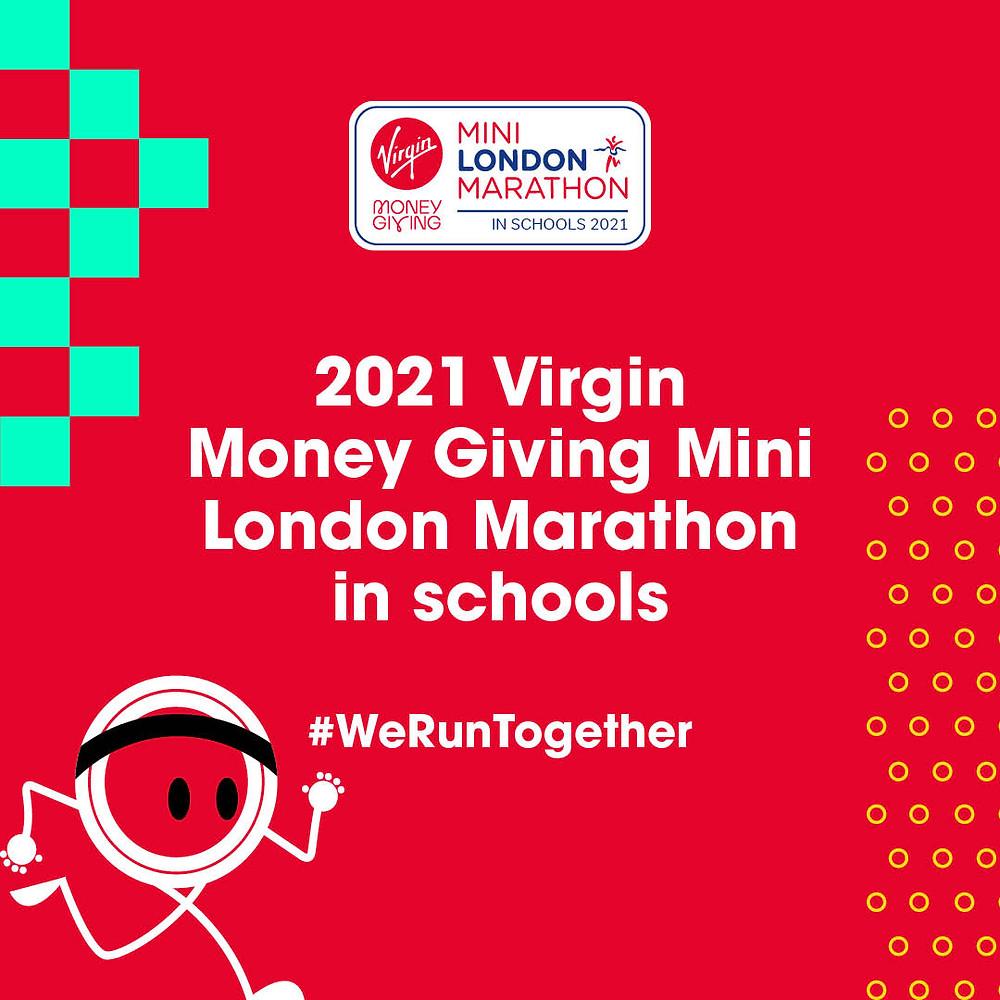 2021 Virgin Money Giving Mini London Marathon in schools