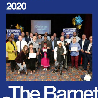 YOUNG BARNET'S CEO NOMINATED FOR LOCAL BARNET GROUP COMMUNITY AWARDS