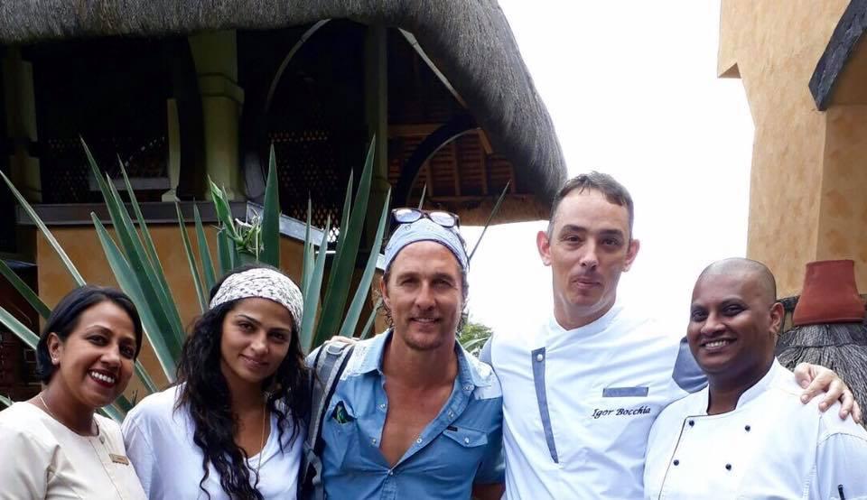 Mathew McConaughey and Camila Alves