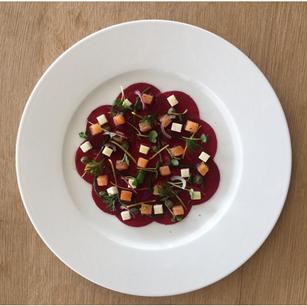 Eat with Six Senses: Рецепт свекольного карпаччо от Six Senses Kaplankaya, Турция