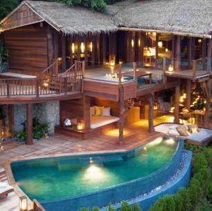 Беспрецедентная роскошь эксклюзивной виллы «The View» (теперь есть бассейн) в отеле Six Senses Yao N