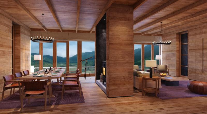 Gangtey_2_Bedroom_Villa_Living_Dining_Ar