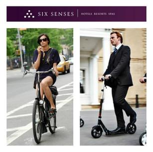 Продление акции: Бронируйте Six Senses Hotels Resorts Spas и получайте самокаты и велосипеды!
