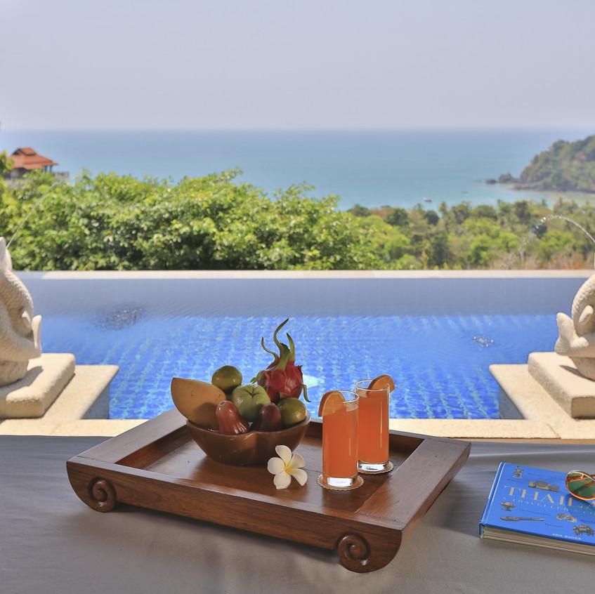 Hillside Ocean View Private Pool Villa T
