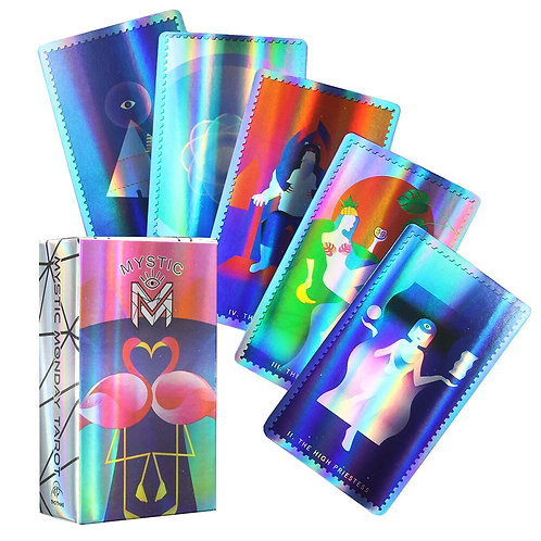 The Oracle of Ethereal Visions Holographic Tarot Deck