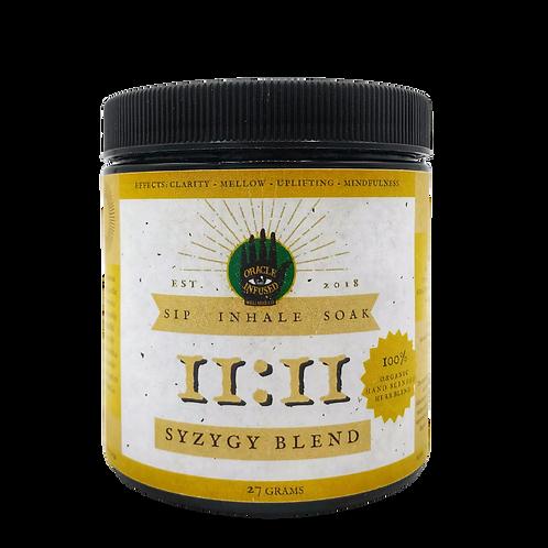 SYZYGY [siz-i-jee ] 11:11 botanical herb blend
