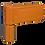 Thumbnail: 3D дверная петля на ПВХ - 85 кг.