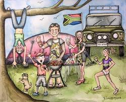 Bespoke Family Illustration