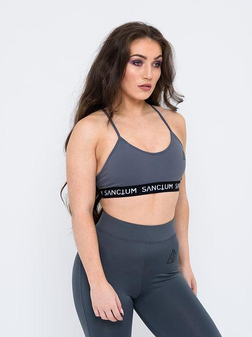 Grey Jersey Sports Bra