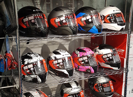 LS2 Helmets at Stevelin Motorcycles