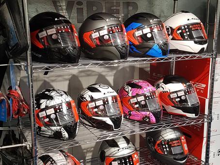 LS2 Helmets at Stevelin Motorcycles