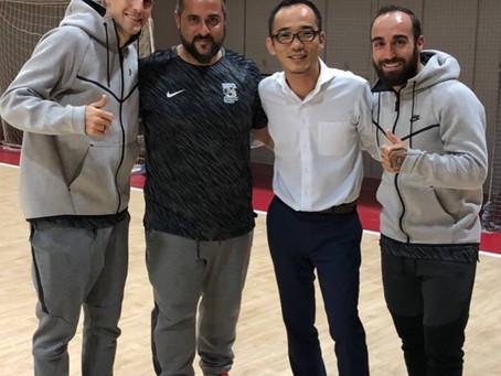 フットサル界の英雄リカルジーニョ選手とスペイン代表キャプテン オルティス選手から学ぶんだ事