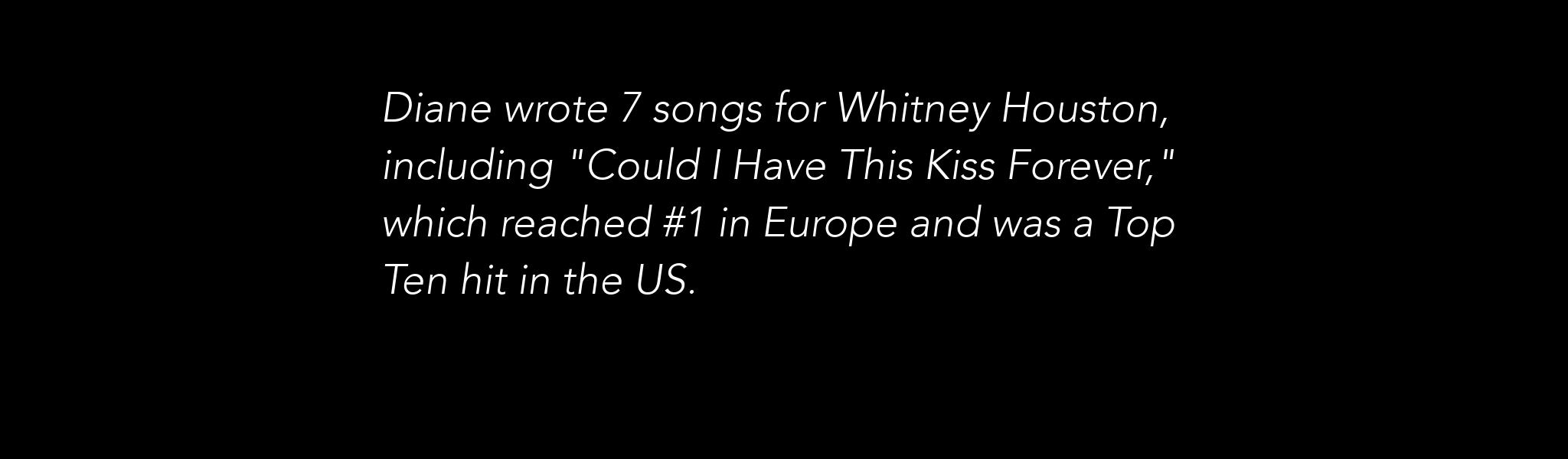 Whitney Houston Fact Slider 1.1
