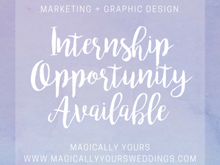 Marketing + Graphic Design Internship Available