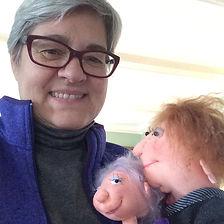 Joyce and dolls