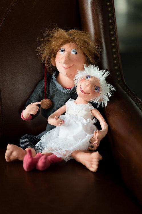 Lovers - Art Dolls