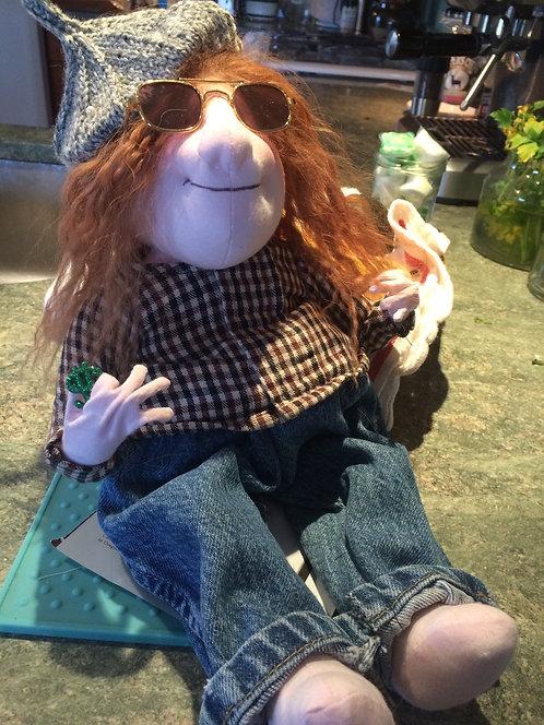 Art Doll Yippie Hippie