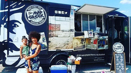 Our very own Monica is at the truck, you